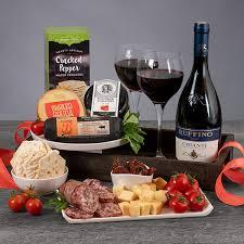 chianti wine italian gift basket by