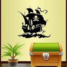 Vinyl Decal Pirate Ship Pirates Boys Kids Pirate Flag Room Wall Sticker 721 Ebay