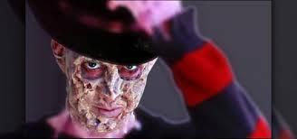 freddy krueger s burnt skin makeup
