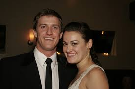 Patrick Heusinger and his girlfriend Ashley Brown (soon to be Mary ...