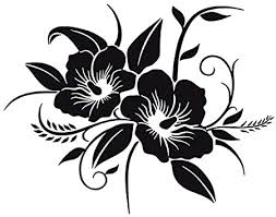 Amazon Com Tdt Printing Custom Decals Hawaiian Flower Vinyl Decal Sticker For Car Or Truck Windows Laptops Etc Automotive