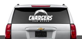 San Diego Chargers Inspired Car Decal Chargers Inspired Truck Sticker Nfl Team Inspired Window Car Decal Dec Truck Stickers San Diego Chargers Car Decals
