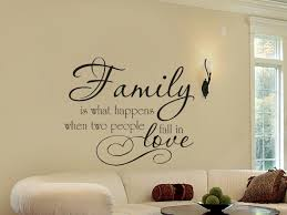 Family What Happens When Two People Fall In Love Family Wall Decals