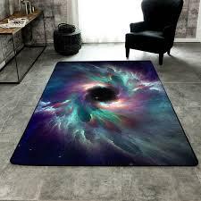 3d starry sky carpet the universe rug