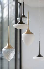 group of lights with natural shapes