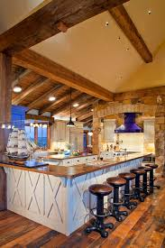 lighting kitchens with sloped ceilings