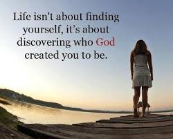 life isn t about finding yourself it s about discovering who
