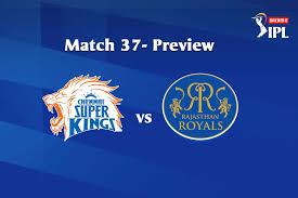 Dream11 IPL 2020, Match 37: CSK vs RR ...