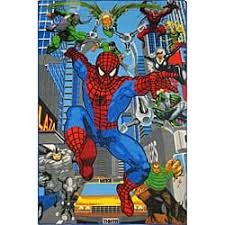 Shop Kids Blue Spider Man Area Rug 5 X 3 Free Shipping Today Overstock 4433791