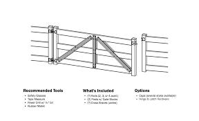 Post And Rail Fence Gate Split Rail Fence Gate