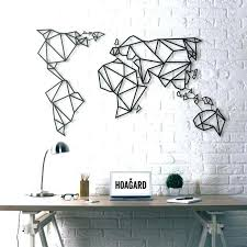 8 Map Of The World Wall Decal Together With Wall Decor Map Of The World Wall Art Decal World Map Wall Sticker Wall Design Map Wall Decal World Map Wall Decal