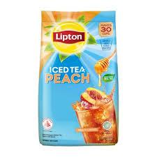 lipton iced tea mix peach 510g