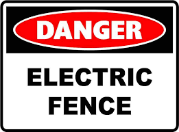 Safety Signs Danger Signs Electric Fence Quill Safety