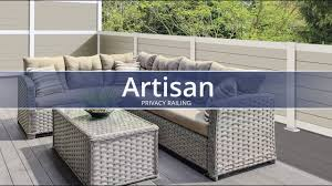 Artisan Privacy Railing Youtube