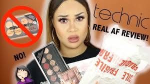 technic makeup review foundation