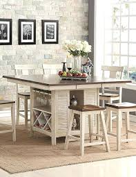 counter height island table mio co