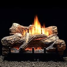 propane lp manual gas log fireplace