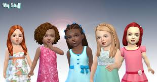 the sims 4 toddler hair free s