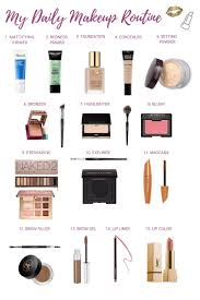 my daily makeup routine the glamorous