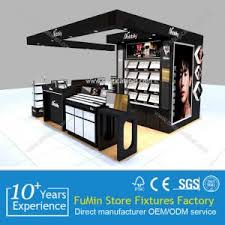 cosmetic display makeup showcase for