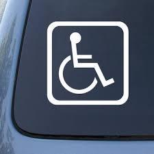 Handicapped Sign Car Truck Notebook Buy Online In Bahamas At Desertcart