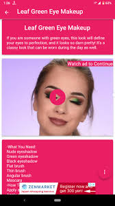 eyes makeup video tutorials for android
