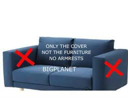 ikea norsborg 2 seat section sofa cover