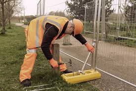 Increasing Construction Site Safety Methods Of Stability For Temporary Fence Panels