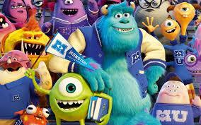 كرتون جامعة المرعبين Monsters University الجزء الاول Hd مدبلج
