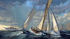 hd wallpaper sailing ship schooner