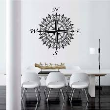 Dsu Wall Sticker For Kids Rooms Art Nautical Home Decor Compass Vinyl Decal Removable Mural Bedroom Sale Price Reviews Gearbest