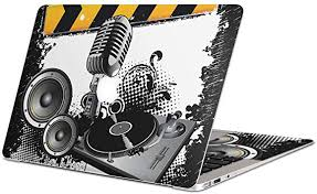 Amazon Com Igsticker Skin Decals For Macbook Pro 15 Inch 2019 18 17 16 Model A1990 A1707 Ultra Thin Premium Protective Body Stickers Skins Universal Cover Dj Hiphop Microphone Electronics