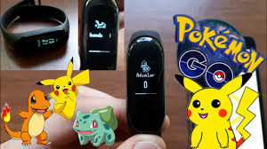 Mİ BAND 3 CUSTOM FİRMWARE ( Pokemon go THEME ) - YouTube