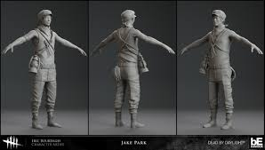 ArtStation - Jake Park - Dead By Daylight, Eric Bourdages
