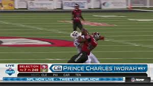 49ers Select Prince Charles Iworah in Round 7