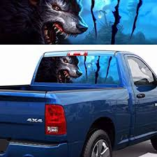 Amazon Com Practlsol Car Decals 1 Pcs Wolf Decal Decals For Truck Car Sticker Decals Car Decal Vinyl For Car Truck Usv Jeep Universal Scratch Hidden Car Stickers 53 15 Inch X 14 17 Inch Automotive