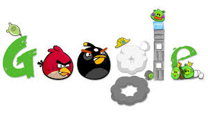 Angry Bird Google Logo Wallpaper HD 1920x1080 #4515 | Logo wallpaper hd,  Google doodles, Angry birds