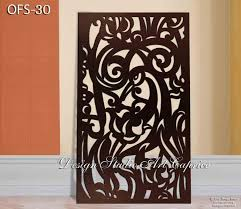 Metal Privacy Screen Fence Decorative Panel Wall Art Etsy