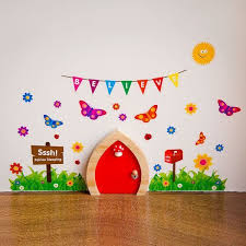 My Own Fairy Fairy Wall Stickers Accessories To Decorate Your Fairy Door New Fairy Doors Fairy Bedroom Fairy Room