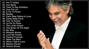 Andrea Bocelli Greatest Hits Full Album ...