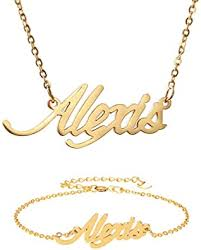 personalized name necklace name