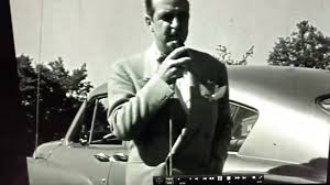 Extremely rare original footage of Preston Tucker talking about the Tucker  automobile - YouTube