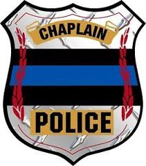 Thin Blue Line Chaplain Badge Diamond Window Decal Police Law Enforcement Ebay