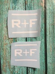 Rodan And Fields Decal Car Decal Vinyl Decal R F Tumbler Decal R