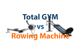 total gym vs rowing machine how to