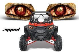 Rzr 800 900 Headlight Graphics Invision Artworks Powersports Graphics