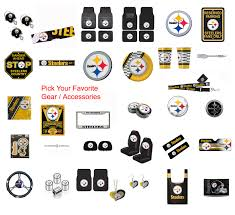 Nfl Pittsburgh Steelers Pick Your Gear Automotive Accessories Official Licensed Ebay