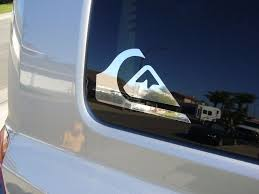 Quiksilver Surfing Logo Vinyl Window Laptop Decal Bumper Sticker Chrome 4 Roxy Oneillquicksilverqui Window Decals Car Vinyls Vinyl Window Decals Window Vinyl