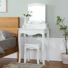 stool set makeup vanity bedroom desk