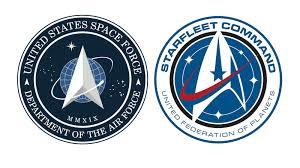 Trump Space Force Logo Looks Like Star Trek Starfleet Symbol